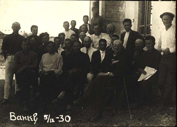 Город Венев, Тульская область, 1930 год.